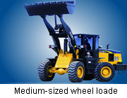 Medium-sized wheel loader